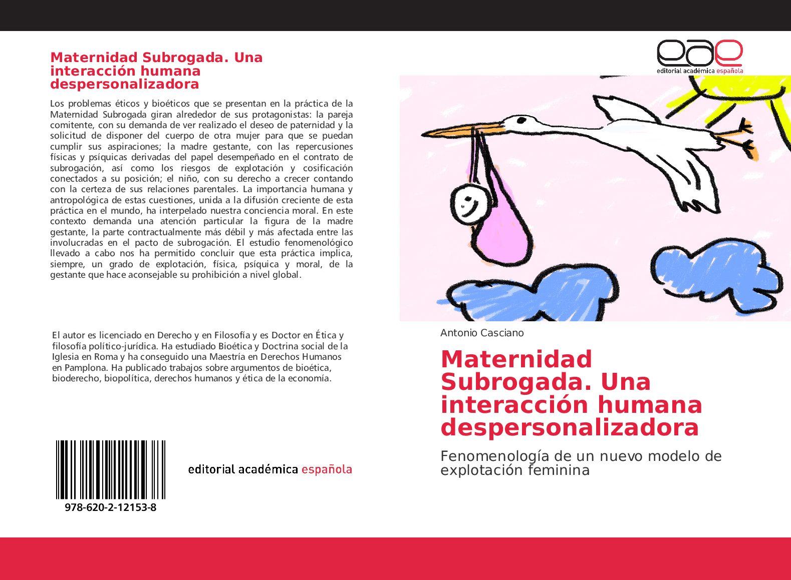 """Recensione del libro """"La maternitad Subrogada"""" di Antonio Casciano"""